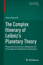 The Complex Itinerary of Leibniz's Planetary Theory by Paolo Bussotti