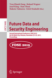 Future Data and Security Engineering by Tran Khanh Dang
