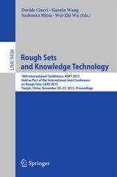 Rough Sets and Knowledge Technology by Davide Ciucci