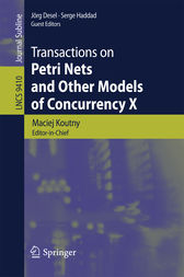 Transactions on Petri Nets and Other Models of Concurrency X by Maciej Koutny