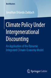 Climate Policy Under Intergenerational Discounting by Jonathan Orlando Zaddach