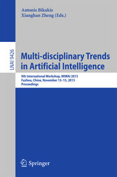 Multi-disciplinary Trends in Artificial Intelligence by Antonis Bikakis