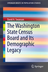 The Washington State Census Board and Its Demographic Legacy by David A. Swanson
