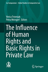 The Influence of Human Rights and Basic Rights in Private Law by Verica Trstenjak