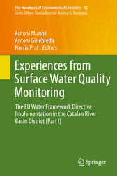 Experiences from Surface Water Quality Monitoring by Antoni Munné