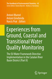 Experiences from Ground, Coastal and Transitional Water Quality Monitoring by Antoni Munné