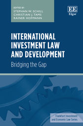 International Investment Law and Development by Stephan W. Schill