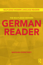 The Routledge Modern German Reader by Maryann Overstreet