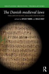 The Danish Medieval Laws by Ditlev Tamm
