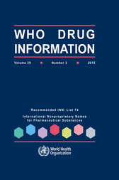 WHO Drug Information  Vol. 29 No. 3  2015 by WHO