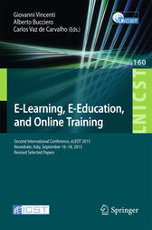 E-Learning, E-Education, and Online Training by Giovanni Vincenti