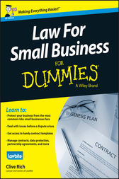 Law for Small Business For Dummies - UK by Clive Rich