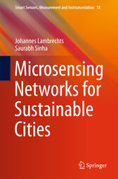 Microsensing Networks for Sustainable Cities by Johannes Lambrechts
