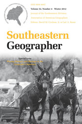 Southeastern Geographer by David M. Cochran Jr.