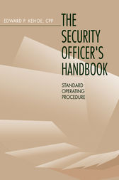 Security Officer's Handbook by Edward Kehoe