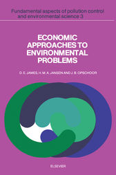 Economic Approaches to Environmental Problems by D. E. James
