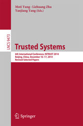 Trusted Systems by Moti Yung
