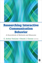 Researching Interactive Communication Behavior by C. Arthur VanLear