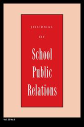 Jspr Vol 23-N3 by Journal of School Public Relations