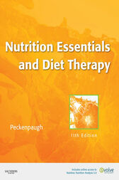Nutrition Essentials and Diet Therapy - E-Book by Nancy J. Peckenpaugh