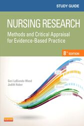 Study Guide for Nursing Research - E-Book by Geri LoBiondo-Wood