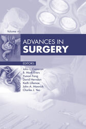 Advances in Surgery by John L. Cameron