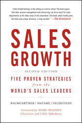 Sales Growth: Five Proven Strategies from the World's Sales Leaders