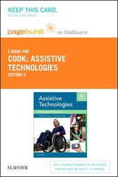 Assistive Technologies- E-Book by Albert M. Cook
