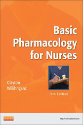 Basic Pharmacology for Nurses - E-Book by Bruce D. Clayton