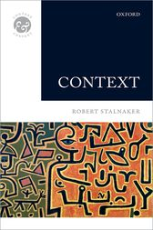 Context by Robert Stalnaker