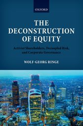 The Deconstruction of Equity by Wolf-Georg Ringe