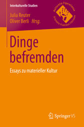 Dinge befremden by Julia Reuter