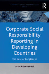 Corporate Social Responsibility Reporting in Developing Countries by Ataur Rahman Belal