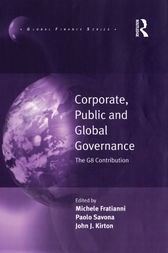 Corporate, Public and Global Governance by Michele Fratianni