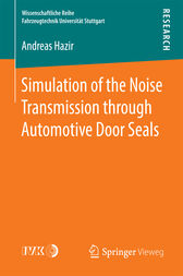 Simulation of the Noise Transmission through Automotive Door Seals by Andreas Hazir