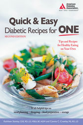 Quick and Easy Diabetic Recipes for One by Kathleen Stanley