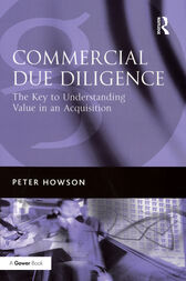 Commercial Due Diligence by Peter Howson