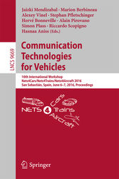 Communication Technologies for Vehicles by Jaizki Mendizabal