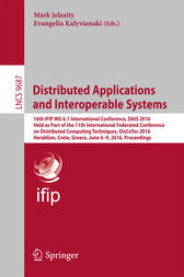 Distributed Applications and Interoperable Systems by Márk Jelasity