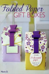Folded Paper Gift Boxes by Maria O