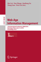 Web-Age Information Management by Bin Cui