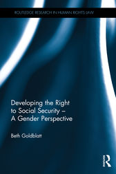 Developing the Right to Social Security - A Gender Perspective