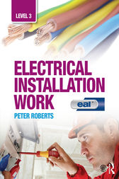 Electrical Installation Work: Level 3: EAL Edition