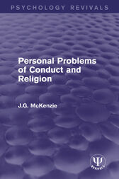 Personal Problems of Conduct and Religion by J.G. McKenzie