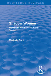 Shadow Women (Routledge Revivals) by Marjorie Bard