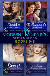 Modern Romance September 2016 Books 5-8 (Mills & Boon e-Book Collections) by Carol Marinelli