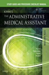 Study Guide for Kinn's The Administrative Medical Assistant - E-Book by Deborah B. Proctor