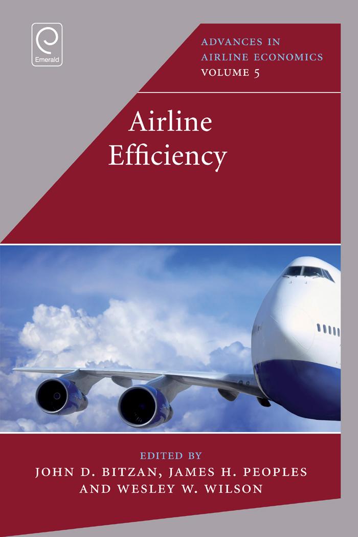 Download Ebook Airline Efficiency by John D. Bitzan Pdf