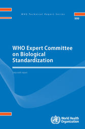 WHO Expert Committee on Biological Standardization (PDF) by WHO