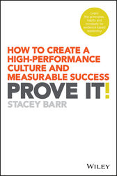 Prove It! by Stacey Barr